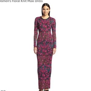 Torn by Rommy Kobo floral maxi dress